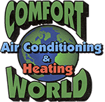 Comfort World Air Conditioning & Heating Logo