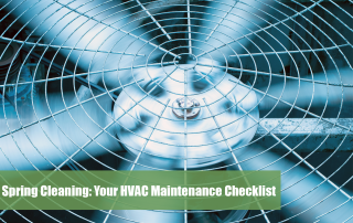 HVAC fans close up, something that should be on your HVAC maintenance checklist.