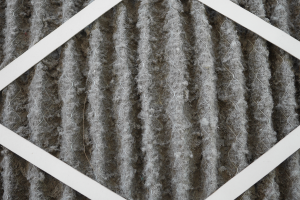 A dirty HVAC; it's important to change air filters for allergies.